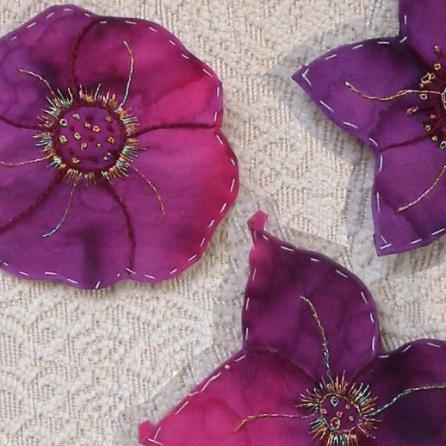 Aplike Çiçekler